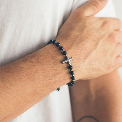 pulseira-masculina-em-beads-smith-black-verso-key-design