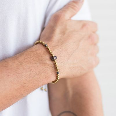pulseira-masculina-cooper-gold-key-design