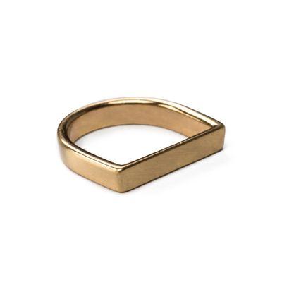 Ring-Flat-Slim-Brushed-Gold-2-