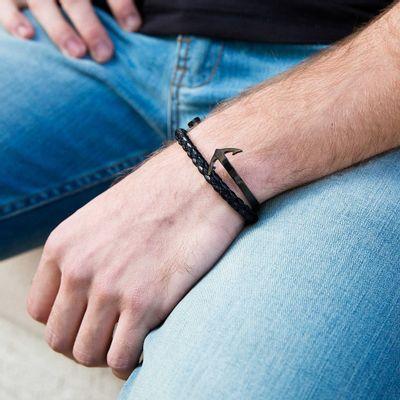 pulseira-masculina-em-tecido-sintetico-com-aparencia-de-couro-jack-black