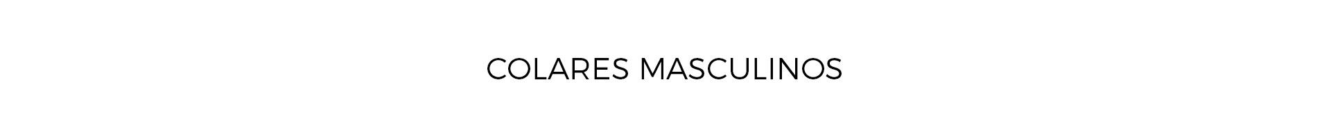 Colares Masculinos