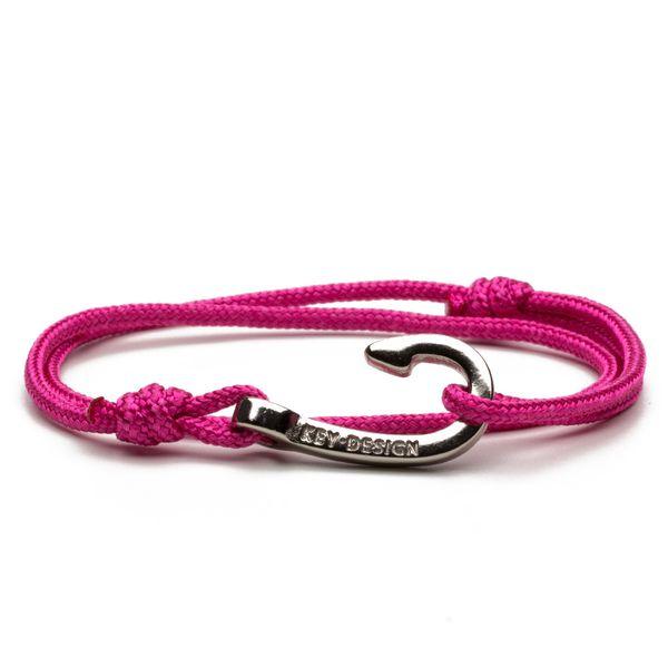 Hook-Silver-Pink