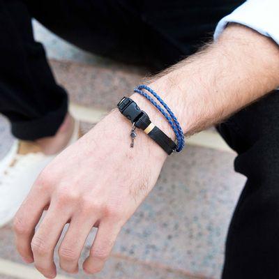 pulseira-masculina-em-couro-piacenti-black