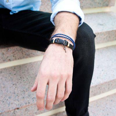 pulseira-masculina-em-couro-trancado-wharol-blue-ii