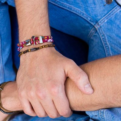 pulseira-masculina-em-tecido-ica-red