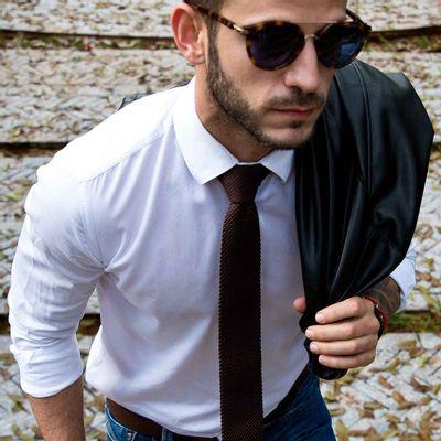 Gravata-Masculina---Gravata-Tricot-Brown--2-