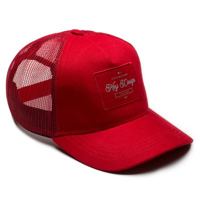 Bone-Masculino---Trucker-Classic-Red-2