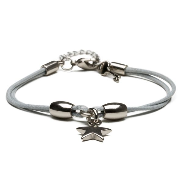 Pulseira-Feminina---Thin-Grey-Star