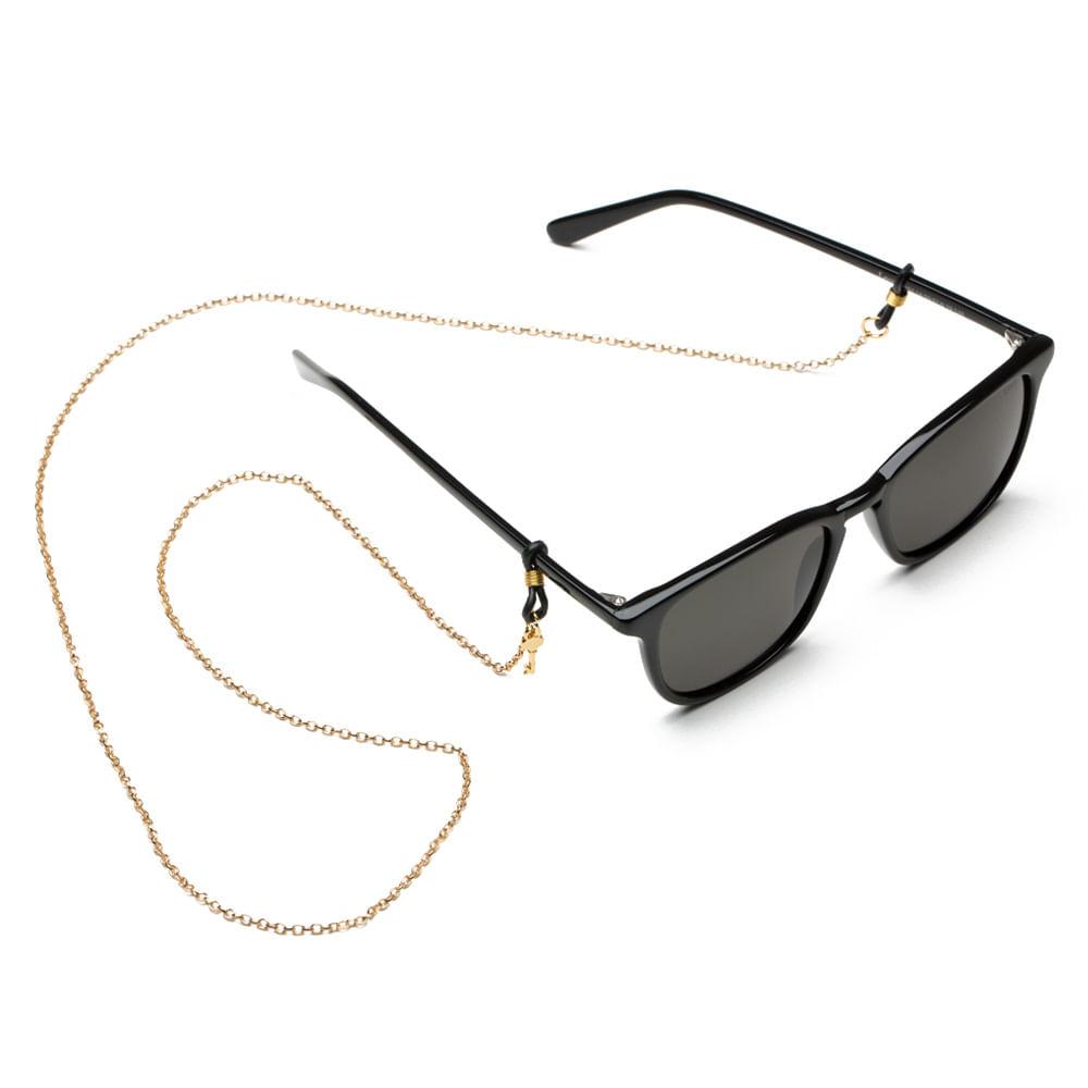 1b6cc2ff92dbe Cordão Para Óculos em Corrente de Aço - Chain Gold