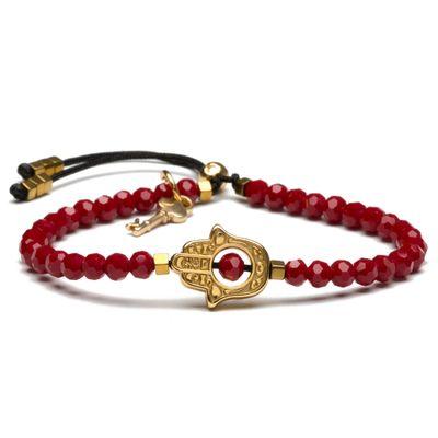 PULSEIRA-FEMININA---TILLARY-GOLD-RED
