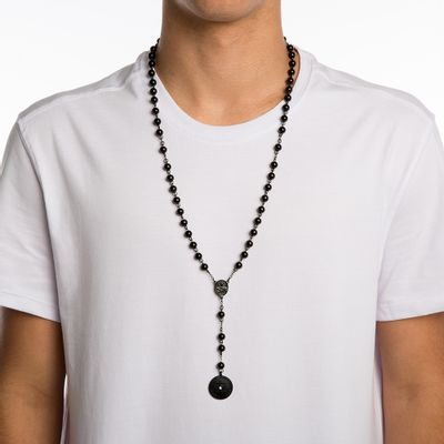 COLAR-MASCULINO---COIN-BALL-BLACK