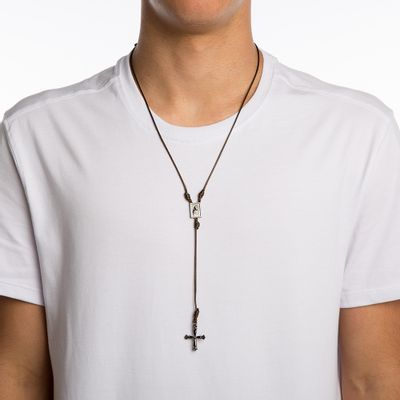 COLAR-MASCULINO---ROSARY-SLIM-BROWN