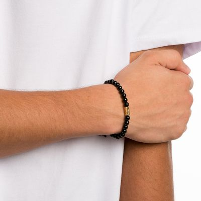 PULSEIRA-MASCULINA---LINCOLN-GOLD---BLACK