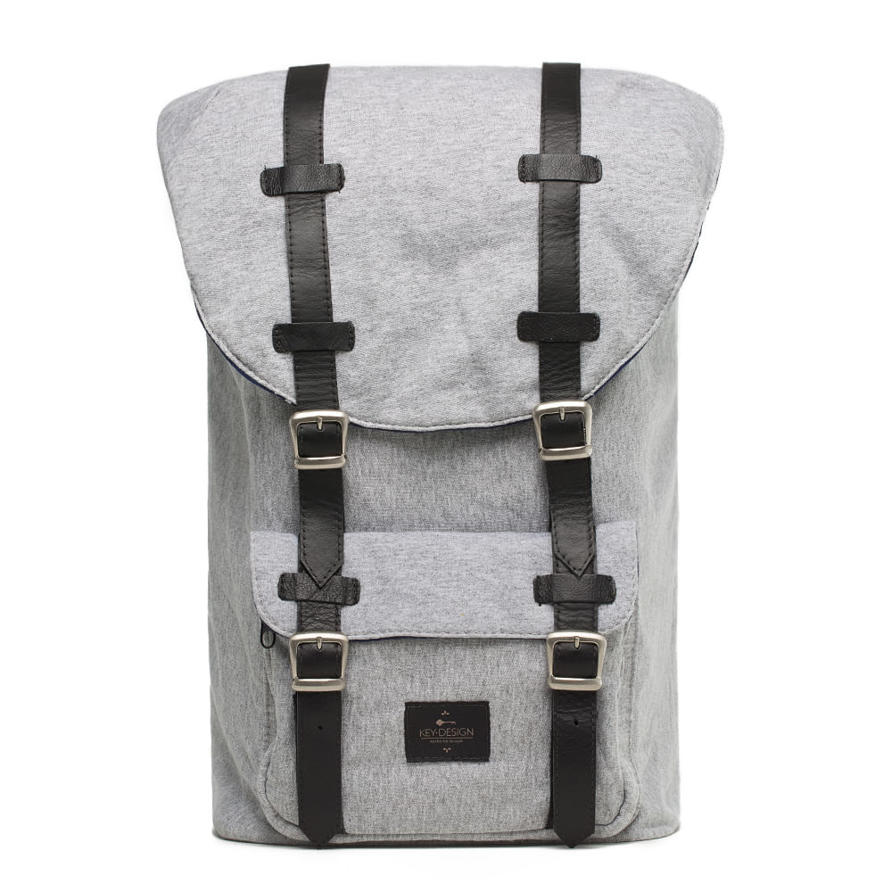 Mochila Masculina em Moletom - Backpack Soft Light  9e5e5eeeb58