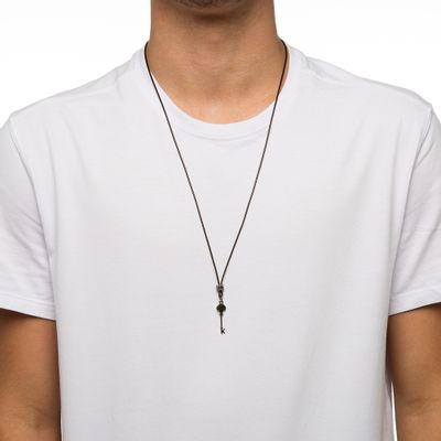 COLAR-MASCULINO-KEY-SLIM-ONIX-BROWN