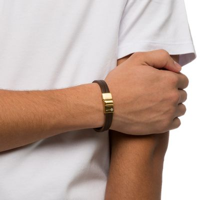 PULSEIRA-MASCULINA-HUERTA-GOLD-LEATHER-BROWN