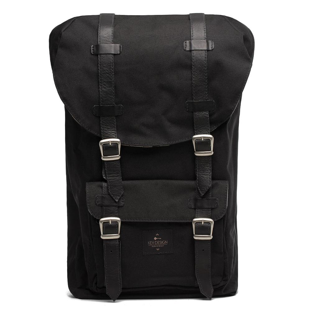 a9be80cb4 Mochila Masculina - Backpack Black