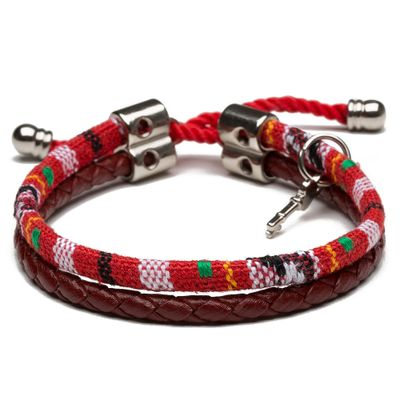 PULSEIRA-MASCULINA-PIKE-SILVER-RED