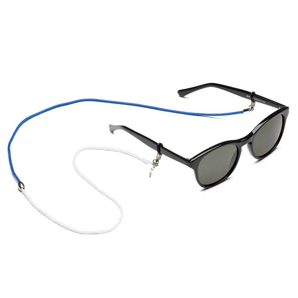 Cordão para Óculos em Paracord - Garra (Azul e Branco)   Key Design ... 7941d331b4