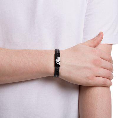 pulseira-de-couro-preta
