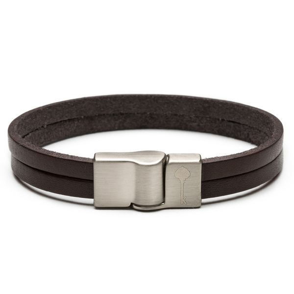 PULSEIRA-MASCULINA---HUERTA-SILVER-LEATHER---BROWN