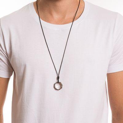 key-design-acessorio-masculino-colar-ringi-silver-slim-black-corpo