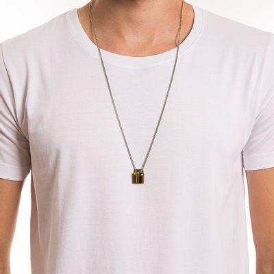 key-design-acessorio-masculino-colar-square-stone-silver-corpo