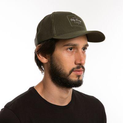 key-design-acessorio-masculino-bone-trucker-classic-green-corpo