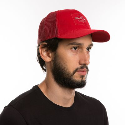 key-design-acessorio-masculino-bone-trucker-classic-red-corpo