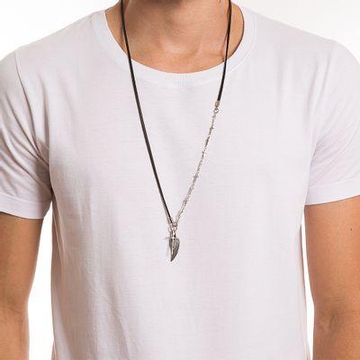 key-design-acessorio-masculino-colar-philip-silver-black-corpo