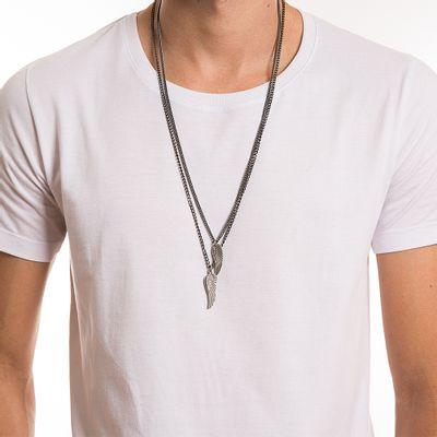 key-design-acessorio-masculino-colar-wings-double-silver-onix-corpo