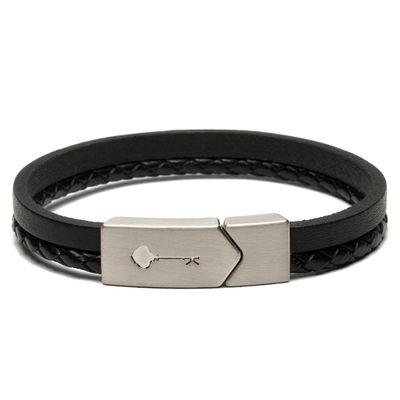 key-design-acessorio-masculino-pulseira-huss-silver-black