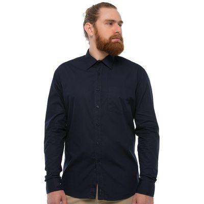 Camisa-Com-Bolso---Azul-Marinho-Lookbook-01-01-min