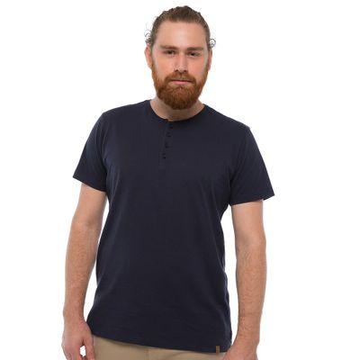 Camiseta-Henley---Azul-Marinho-Lookbook-01-01-min