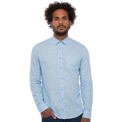 Camisa-Linho-Com-Bolso---Azul-Claro-Lookbook-01-01-min