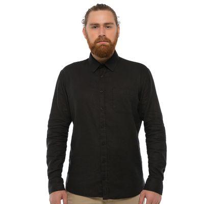 Camisa-Linho-Com-Bolso---Preta-Lookbook-01-01-min