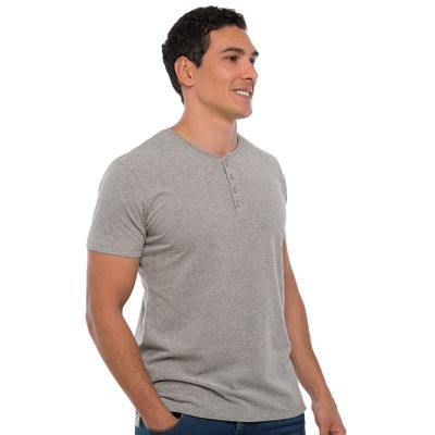 Camiseta-Henley---Cinza-Mescla-Lookbook-01-01-min