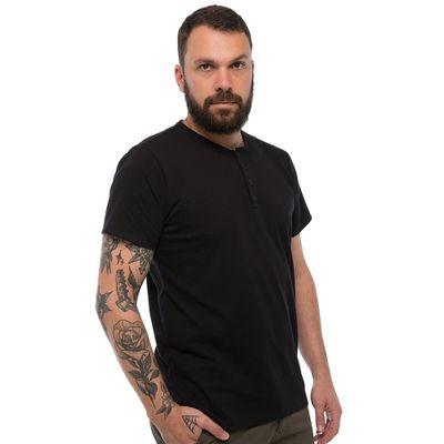 Camiseta-Henley---Preta-Lookbook-01-01-min