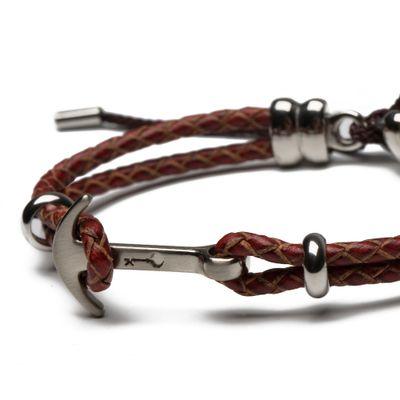pulseira-masculina-de-couro-preta