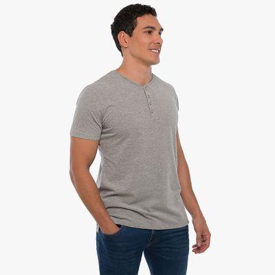 Camiseta-Henley---Cinza-Mescla-Lookbook-01-02
