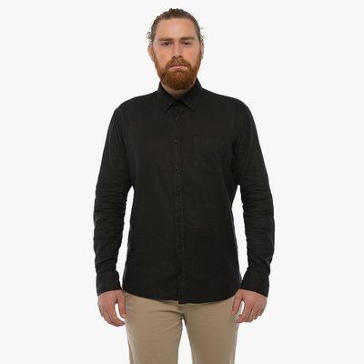 Camisa-Linho-Com-Bolso---Preta-Lookbook-01-02