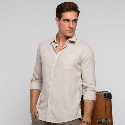 Camisa-linho-areia-frente