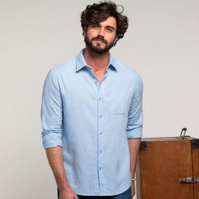 Camisa-linho-azul-frente