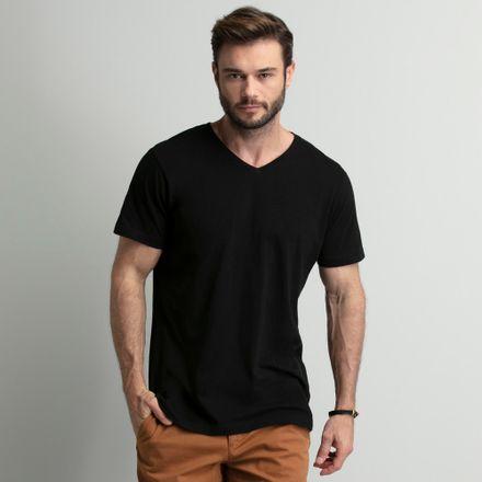 camiseta-masculina-gola-v-preta-key-design