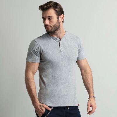 camiseta-henley-cinza-com-4-botoes-key-design