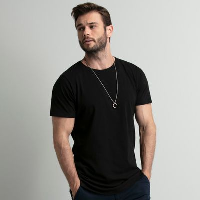 camiseta-preta-long-key-design