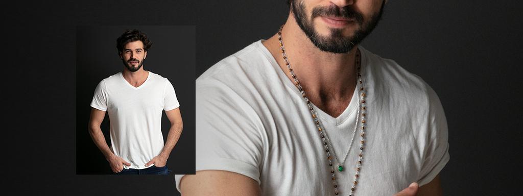Camiseta - Gola V Banner
