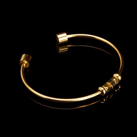 CUFF-FOUQUET---GOLD